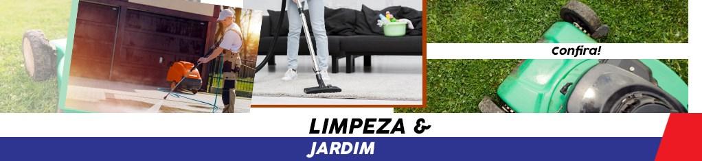 Limpeza e jardim
