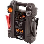 Auxiliar de Partida 500A 12V 14AH Com Luz de Emergência Black & Decker