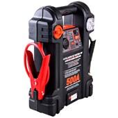 Auxiliar de Partida 500A 12V com Luz de Emergência Black & Decker