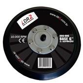 """Base para Lixadeira Roto Orbital 6"""" com Base Aderente LDR2"""