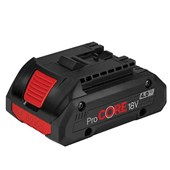 Bateria Pro-Core 18v 4 A.H Professional   Bosch