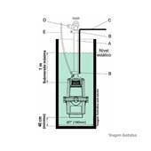 Bomba Submersa Vibratória Para Poço 380W 800 5G Anauger