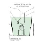 Bomba Submersa Vibratória Para Reservatório e Cisterna 450W 700 5G Anauger