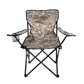 Cadeira Bel Araguaia Aluminio Comfort C/Braco - Camuflado 16900 Belfix