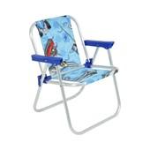 Cadeira Bel Infantil Alumínio Hot Wheels Azul 25202 Belfix