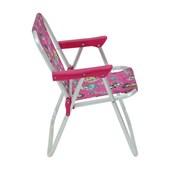 Cadeira de Praia Dobrável Infantil em Alumínio Barbie 025210 Belfix