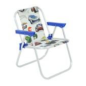 Cadeira de Praia infantil Alumínio Hot Wheels Branca 25201 Belfix