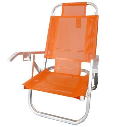 Cadeira Praia Reclinável 5 Posições Botafogo
