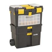 Caixa Plástica Para Ferramentas Com Rodas e Alça CRV 0100 Vonder