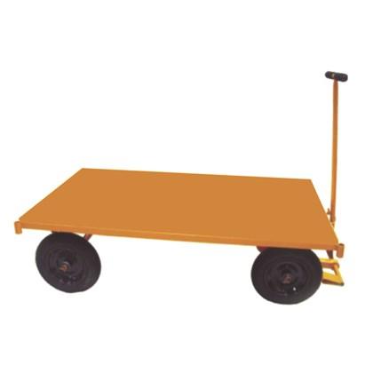 Carro com Plataforma Chapa de Aço 600kg Lynus