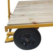 Carro Plataforma de Madeira 600kg Lynus