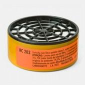 Cartucho com Filtro RC 203 para Máscaras CG 306 Carbografite