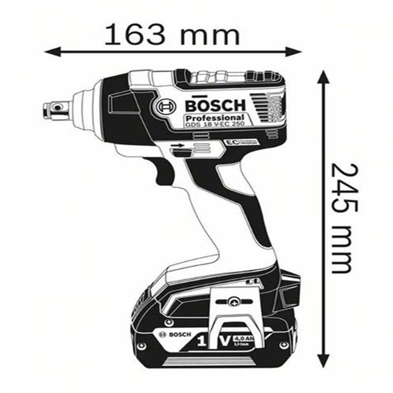 Chave de Impacto Bosch é aqui na ultra maquinas, sua loja