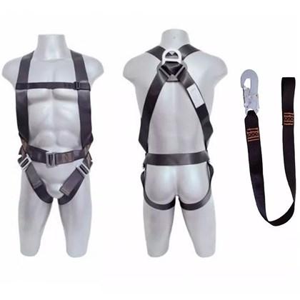 Cinturão Segurança Paraquedista + Talabarte Contra Queda DG4002 + DG8002 Degomaster