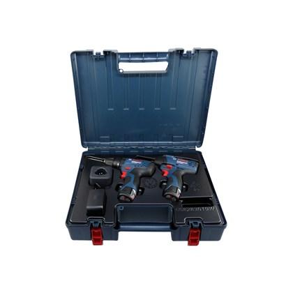 Combo Furadeira Parafusadeira de impacto GSB 120-LI + Chave de impacto GDR 120-LI Bivolt Bosch