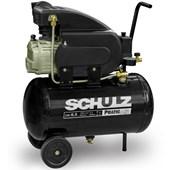 Compressor Ar 8,5 /25 Litros  Monofásico Sem Kit Schulz