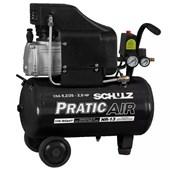 Compressor de Ar  8,2 pés 25 litros S/Kit Pratic Air Schulz