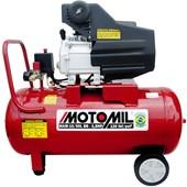 Compressor de Ar 8,8 Pés 50L 2,5HP Monofásico 220V Motomil