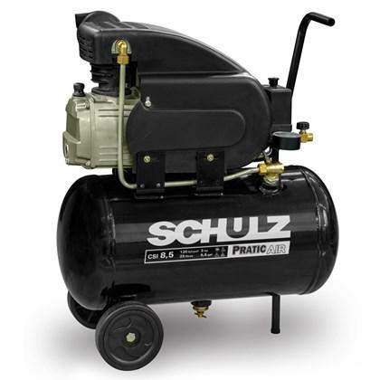 Compressor De Ar  Pratic ar  8.5 / 25 litros - Schulz
