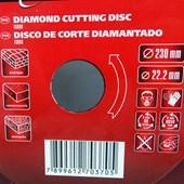 Disco Corte Diamantado Turbo 230x22,2mm Cód.731839 MTX