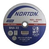 Disco de Corte 229x2x22,23 mm BNA22 Norton