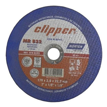 Disco de Corte Clipper 178x3x22,22 mm MR832 Norton
