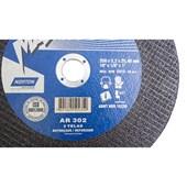 Disco de Corte para Aço AR 302 254 x 3,2 x 25,40mm Norton