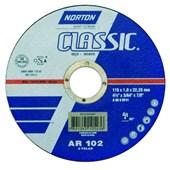 Disco de Corte para Aço Carbono 115 x 1 x 22mm Norton