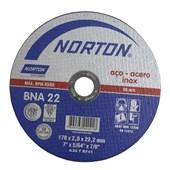 Disco de Corte para Aço/Inox 178x2x22,22 mm BNA22 Norton
