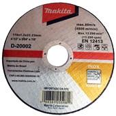 "Disco de Corte  para Inox 4.1/2"" Com 10 Unidades Makita"