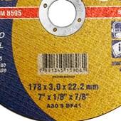 Disco de Corte para Metais 7x1/8x7/8 Norton
