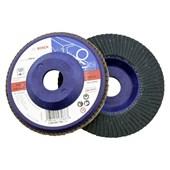 """Disco de Lixa Flap Para Metal 4.1/2"""" GR40 2608607361 Bosch"""