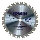 """Disco de Serra Circular 7.1/4"""" 24D IW14107 Irwin"""