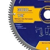 Disco de Serra Circular Multicorte 300X2,5X30MM 100D 363022LA Irwin