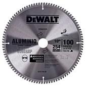 """Disco De Serra Esq. 10"""" 100dts Alumínio DWA03220 DEWALT"""