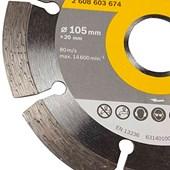 Disco Diamantado 105mm Segmentado/liso Original Bosch