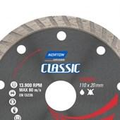 Disco Diamantado 110 x 20mm Turbo Classic Norton