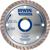 Disco Diamantado 110MM Turbo IW13893 Irwin