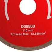 Disco Diamantado Liso Serra Circular 110x20MM Makita