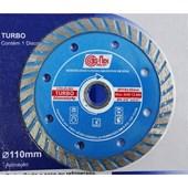 Disco Diamantado Turbo 110 x 20 mm Disflex