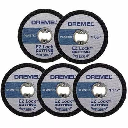 Disco P/ Plástico EZ-476 p/ Plástico 1-1/2   5 Un   Dremel