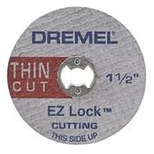 """Discos  Para Corte de Metal Extrafino  1.1/2""""  5 Disco Ez Lock EZ409 Dremel"""
