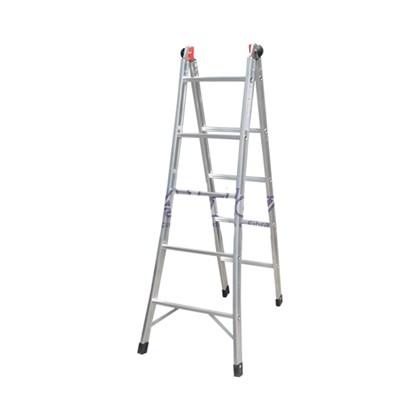 Escada Articulada Alumínio 3 em 1 Com 4 Degraus EA204 Alulev