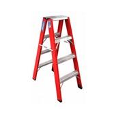 Escada de Fibra de Vidro Pintor 3 Degraus FP103 Alulev