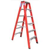 Escada de Fibra de Vidro Pintor 6 Degraus FP106 Alulev