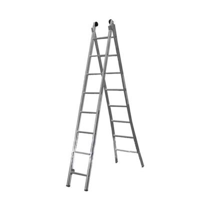 Escada Extensível Alumínio 3 em 1 Com 6 Degraus ED106 Alulev