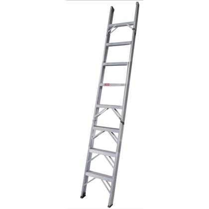 Escada Paralela Alumínio 10 Degraus PP110 Alulev