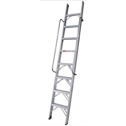 Escada Paralela Alumínio 6 Degraus PP206 Alulev
