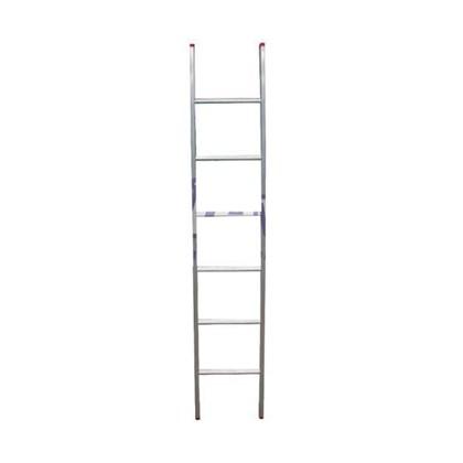 Escada Paralela Alumínio Simples 8 Degraus PC108 Alulev