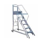 Escada Trepadeira Alumínio 5 Degraus TR152 Alulev